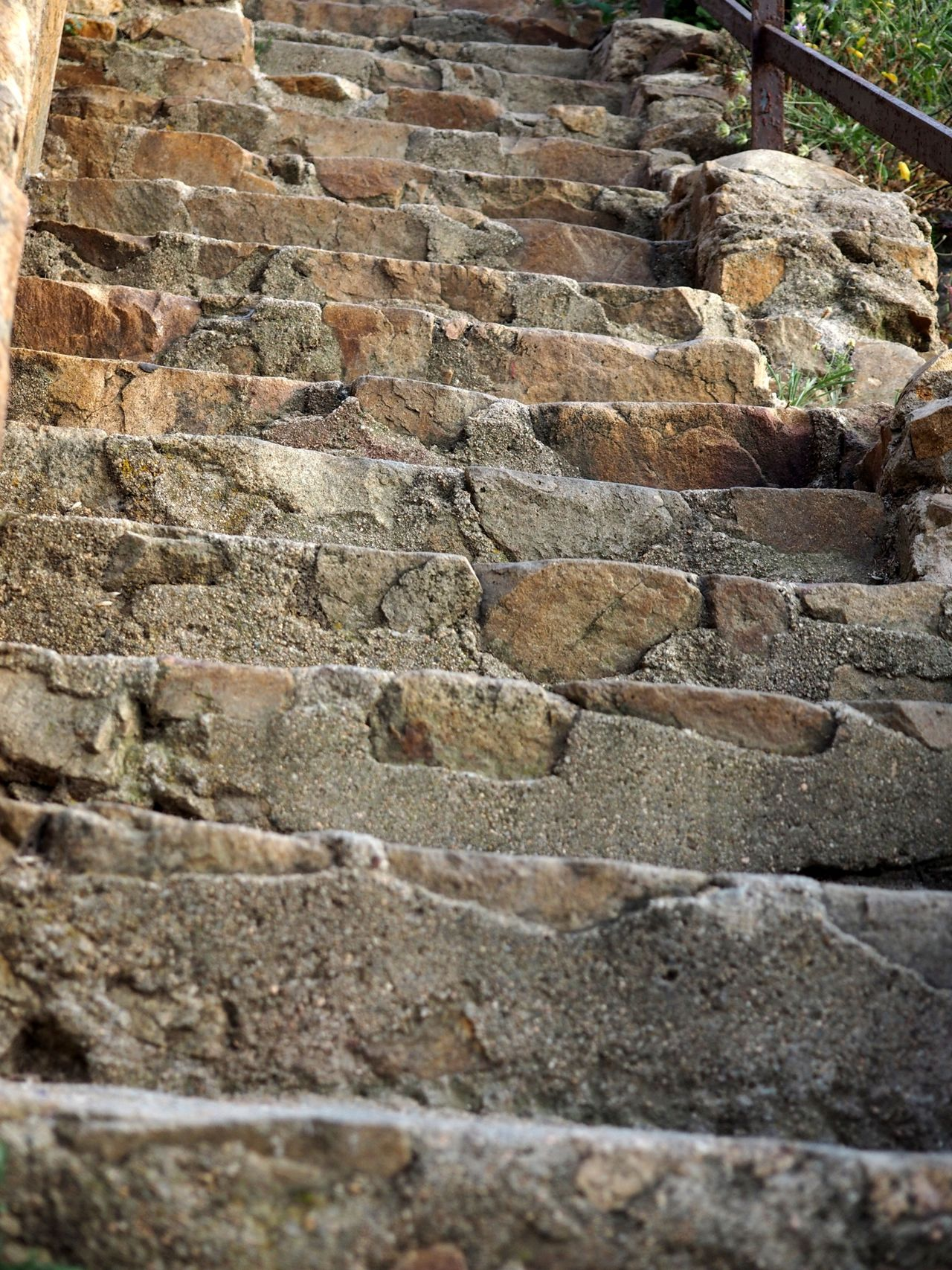 Stones Stears Ladder Old