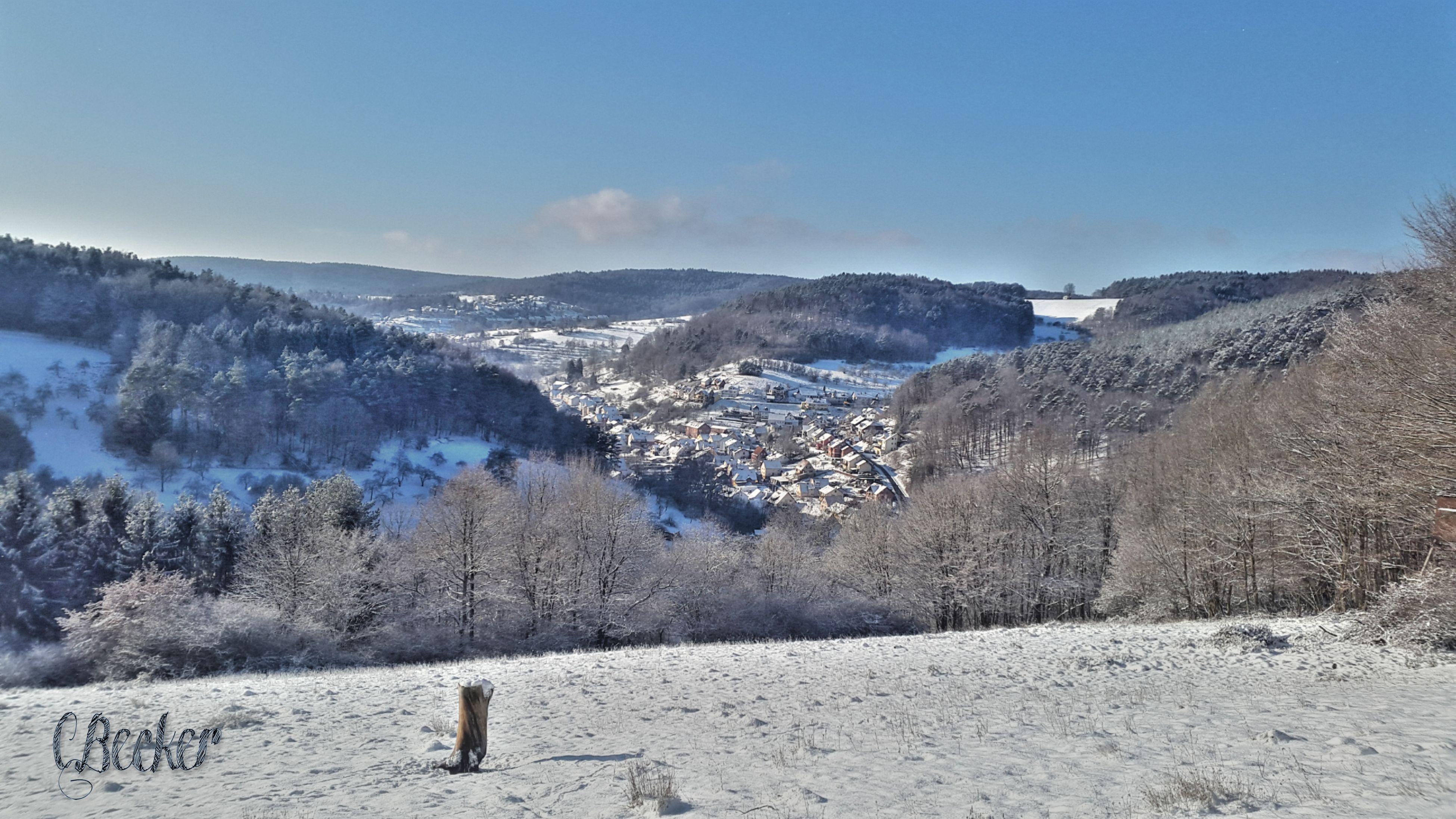 Winter Landscape Gassigehenimschnee Susi Outdoors Nature Mountain