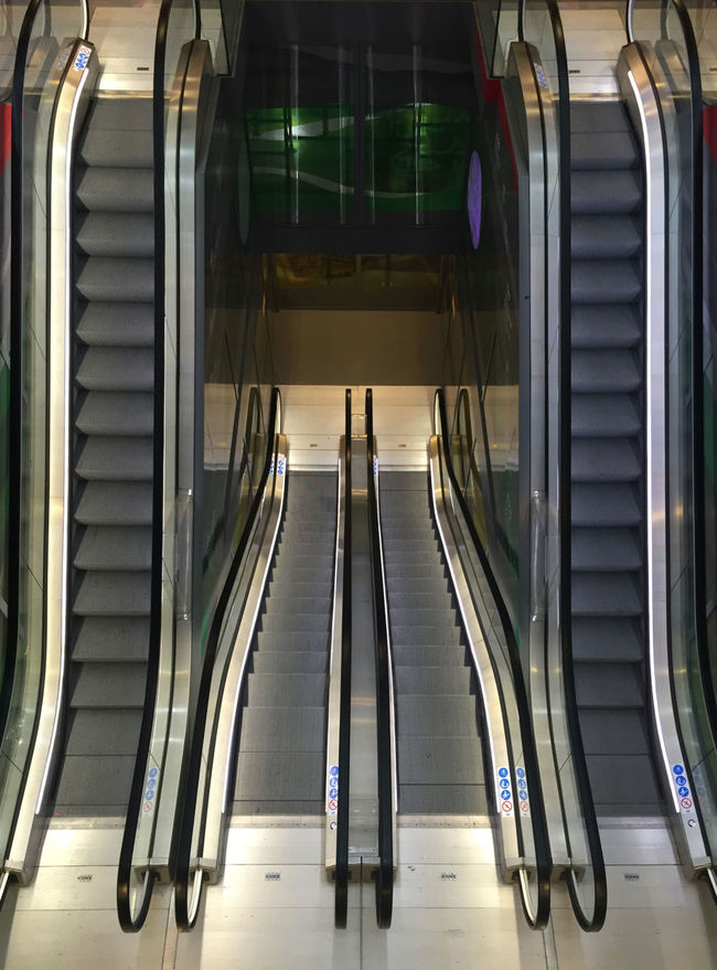 Depth Escalator Eye4photography  EyeEm Best Shots Lines Perspective Shapes Stairs Urban Urban Geometry Geometric Shape Architecture Angle EE Love Connection! EyeEmBestPics Streetphotography Street Photography Light And Shadow Empty Architecture_collection Eeyem Photography