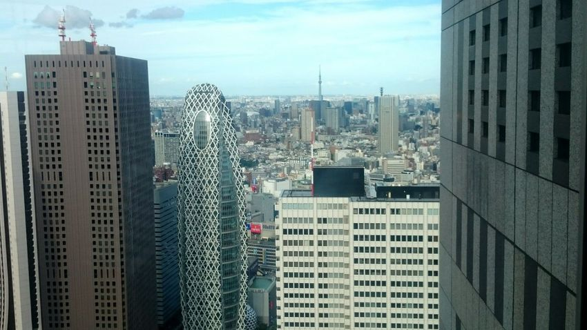 Tokyo skyline in 2015 Skyscraper Architecture City Cityscape Building Exterior Built Structure Tower Travel Destinations Day Outdoors Urban Skyline No People Sky EyeEmNewHere Tokyo Japan