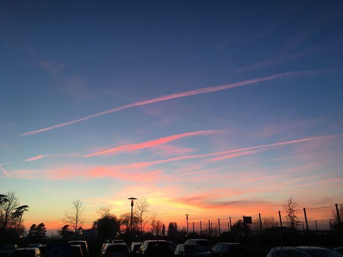 Sonnenuntergang 😊