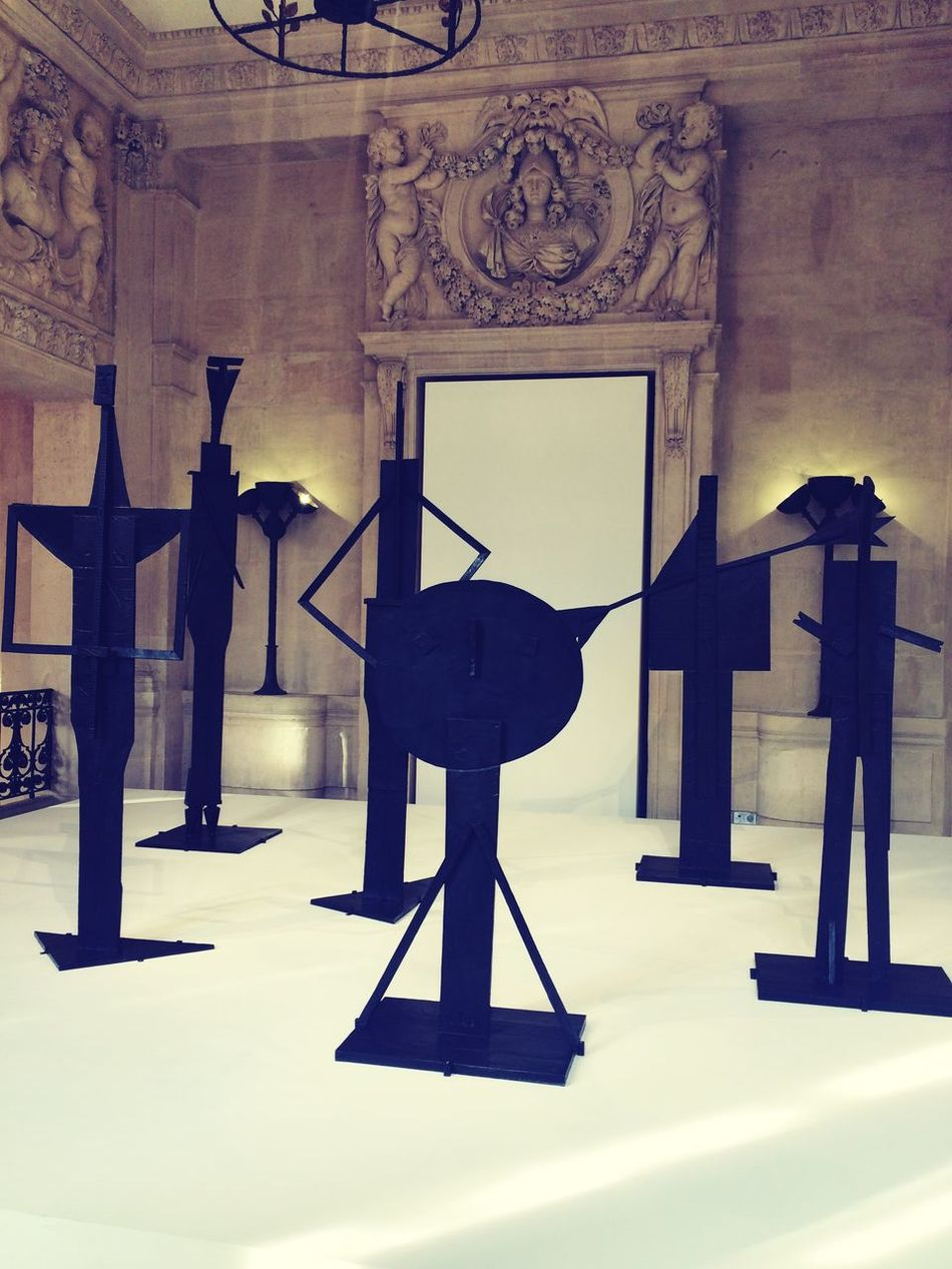 No People Day Indoors  Architecture Built Structure Sculpture Picasso Giacometti Picassogiacometti Paintings Sculptures Art Ancient 1900s