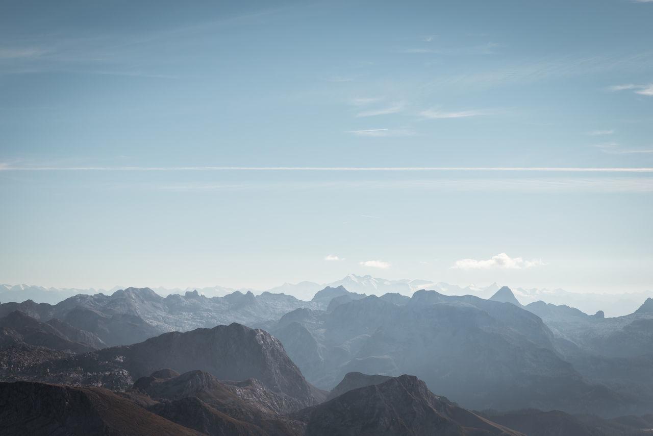 Alps Berchtesgaden Blue Freedom Germany Hoher Göll Horizon Landscape Mountains Sky The Alps Watzmann Lost In The Landscape