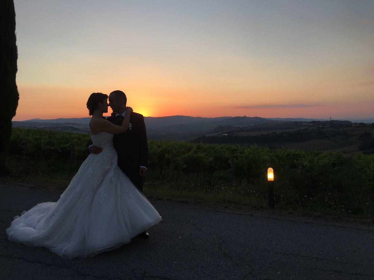 Wedding In Todi Wedding Todi Todi  Umbria, Italy Sunset