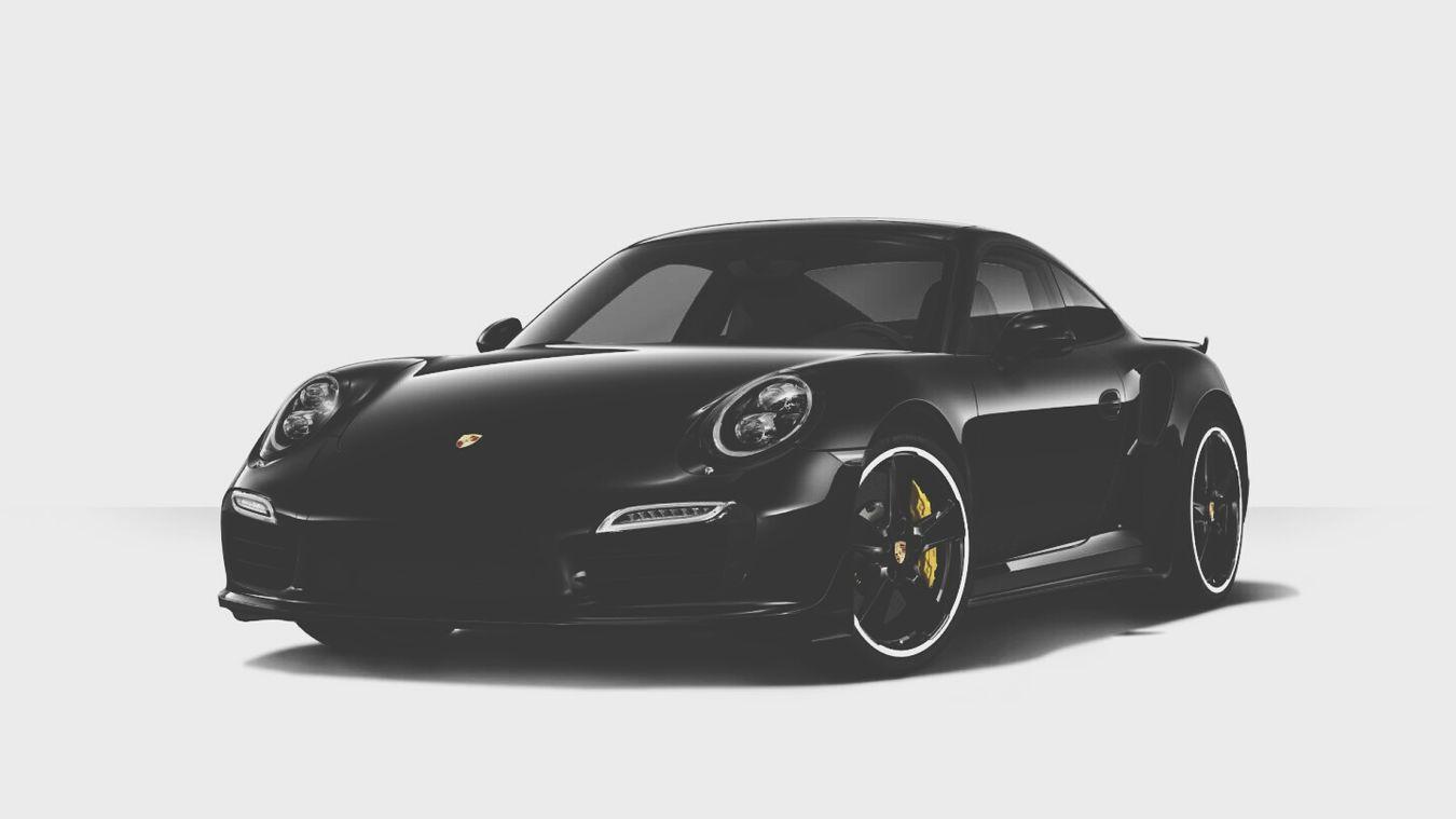 Custom Porsche 911 Turbo S Black On Black Dream Car 😍😍😍