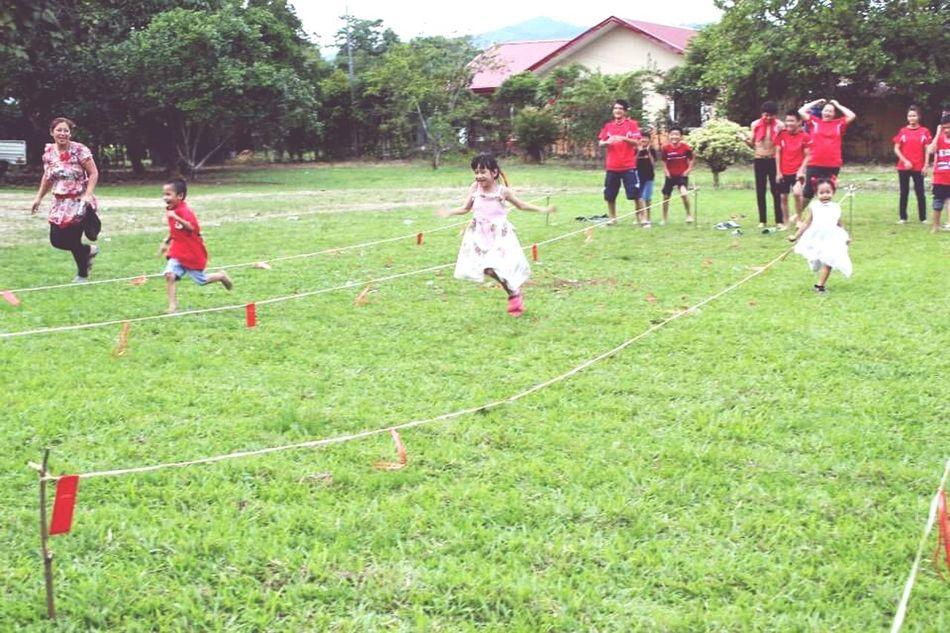 Family❤ Family Games Wonderful Moment Kids Having Fun