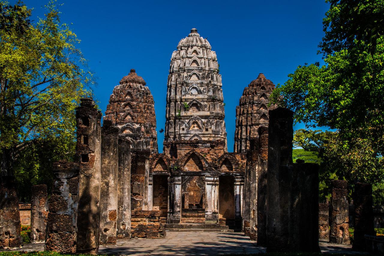Thailand Sukhothaihistoricalpark Sukhothai Travel Destinations Outdoors Architecture Historic History Temple Temple Architecture