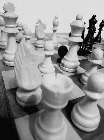 Chess Chess Board Strategy Queen - Chess Piece Knight - Chess Piece