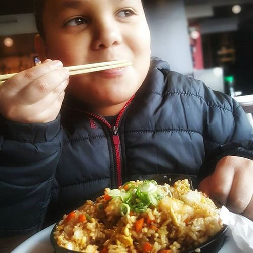 Daddyday Lovesfood Japanesse Food Rice Chicken Chickenandrice Lunch