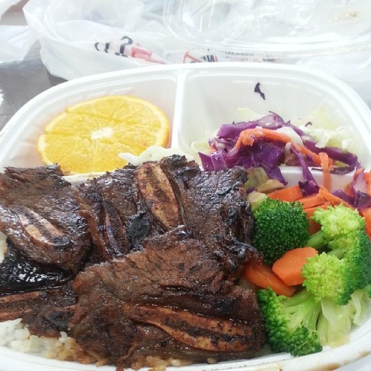 """FlameBroiler lunch """") Ribs BaybayBaybay"""