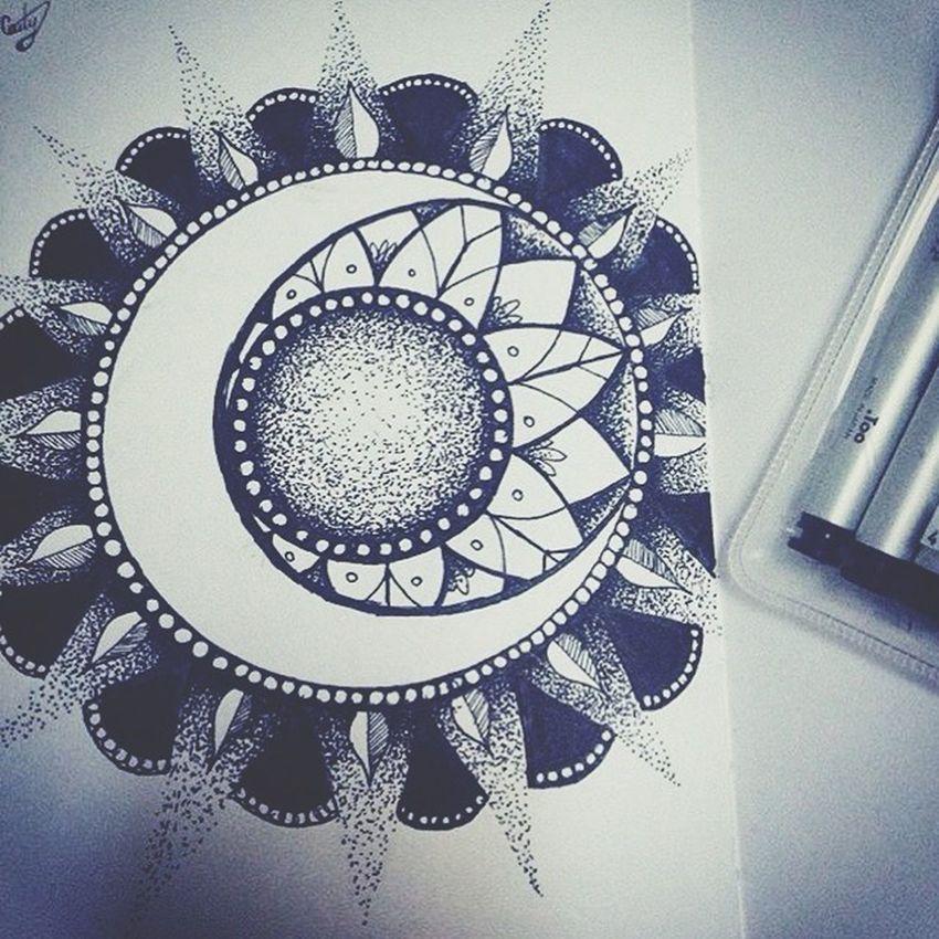 I've been M.I.A for so long here is a recent drawing for you guys ☺️ Art Serial Doodler Mystical Lovely Ink Pointalism Drawing Doodle Sketch Sketchbook