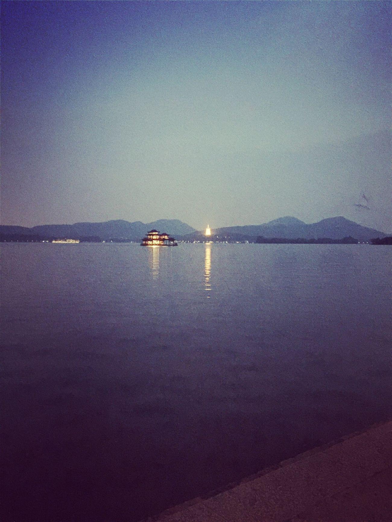 安静的西湖才是她最美的姿态 First Eyeem Photo