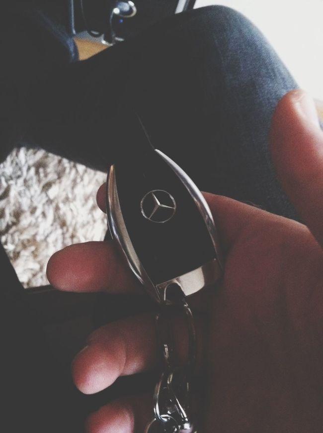 Heading out Mercedes Mercedes-Benz Carkeys Smartkey