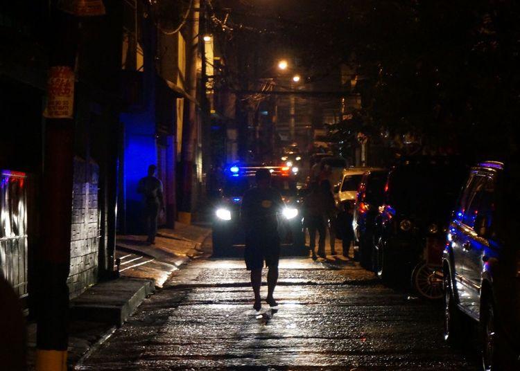 Change has come. Night Street Walking Road Dark Pedestrian Narrow Outdoors Person San Juan City This Week On Eyeem