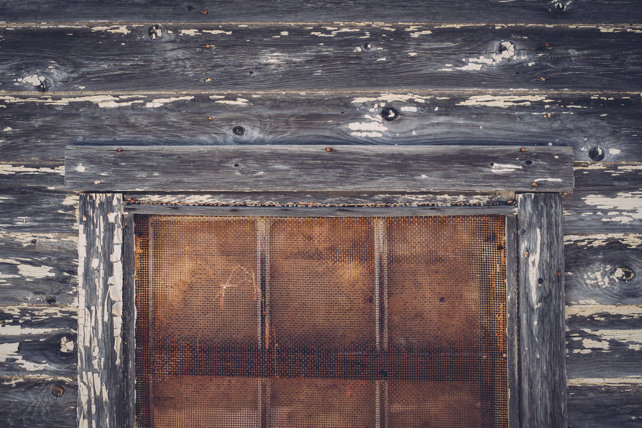 Building Exterior Built Structure Close-up Closed Day Old Outdoors Rusty Wall Wood - Material Wooden