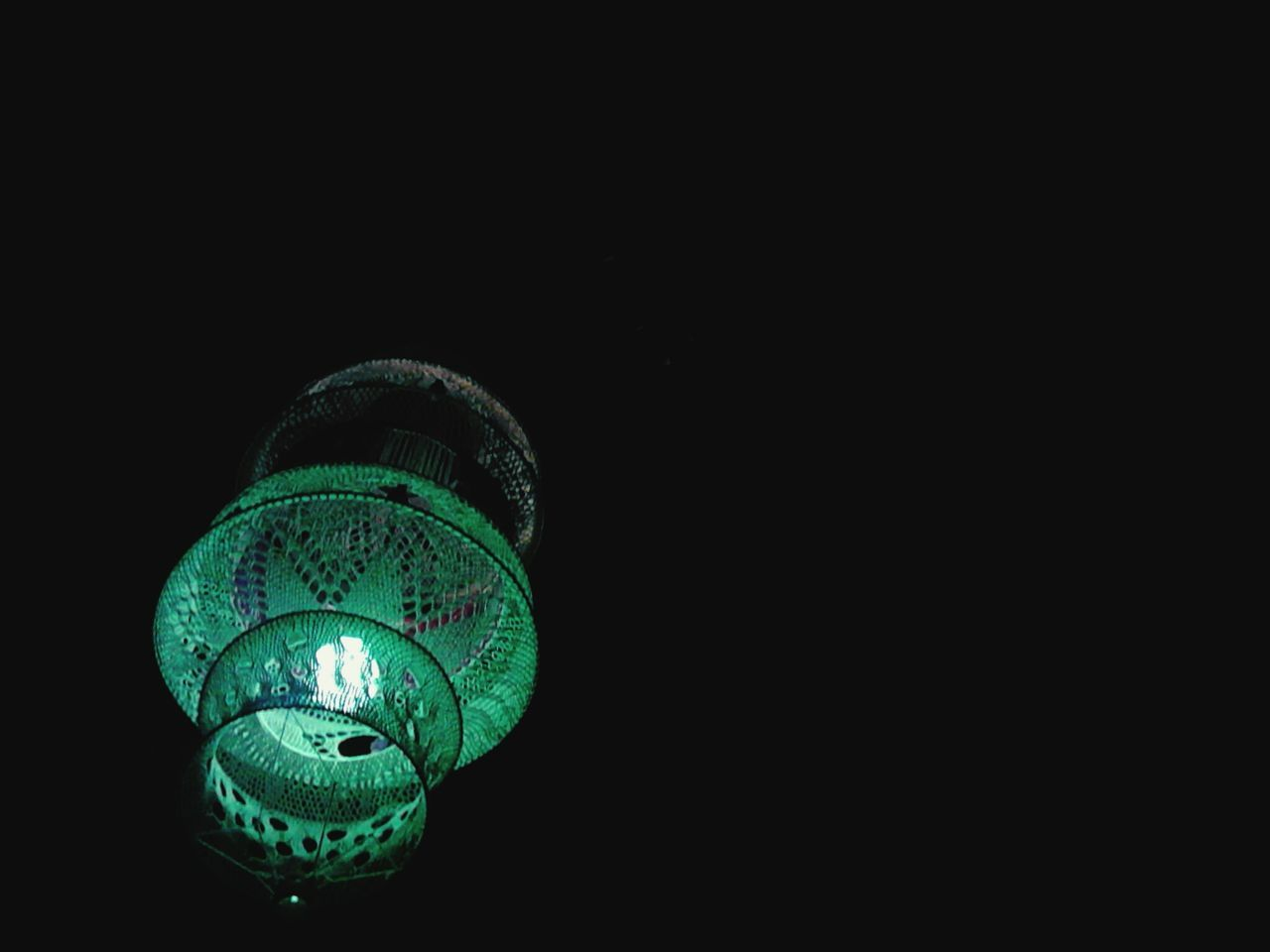illuminated, lighting equipment, black background, copy space, no people, electricity, close-up, low angle view, studio shot, light bulb, night, indoors, lantern, technology