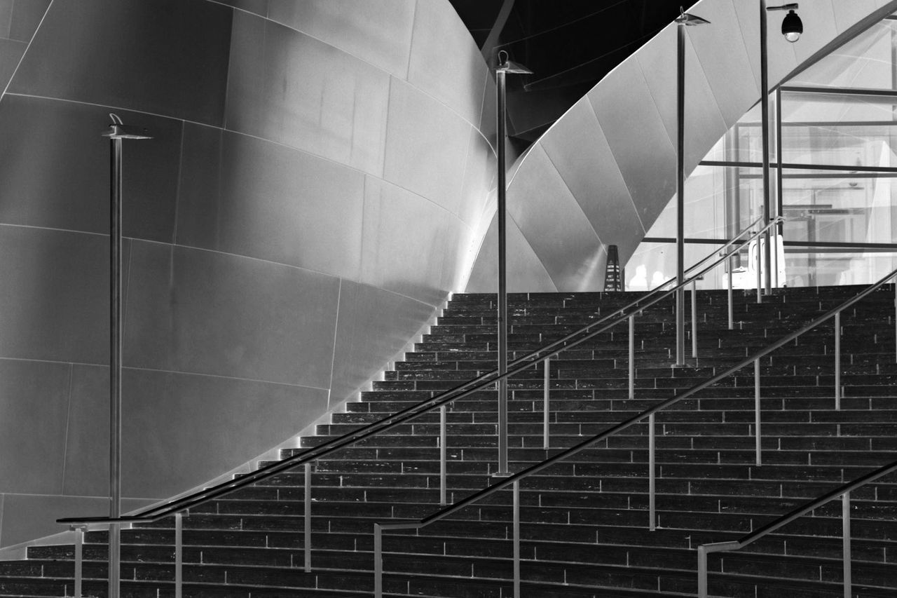 WD Concert Hall Los Angeles, California Blackandwhite Taking Photos Urban Landscape DowntownLA Architecture EyeEm Best Shots Disneyhall