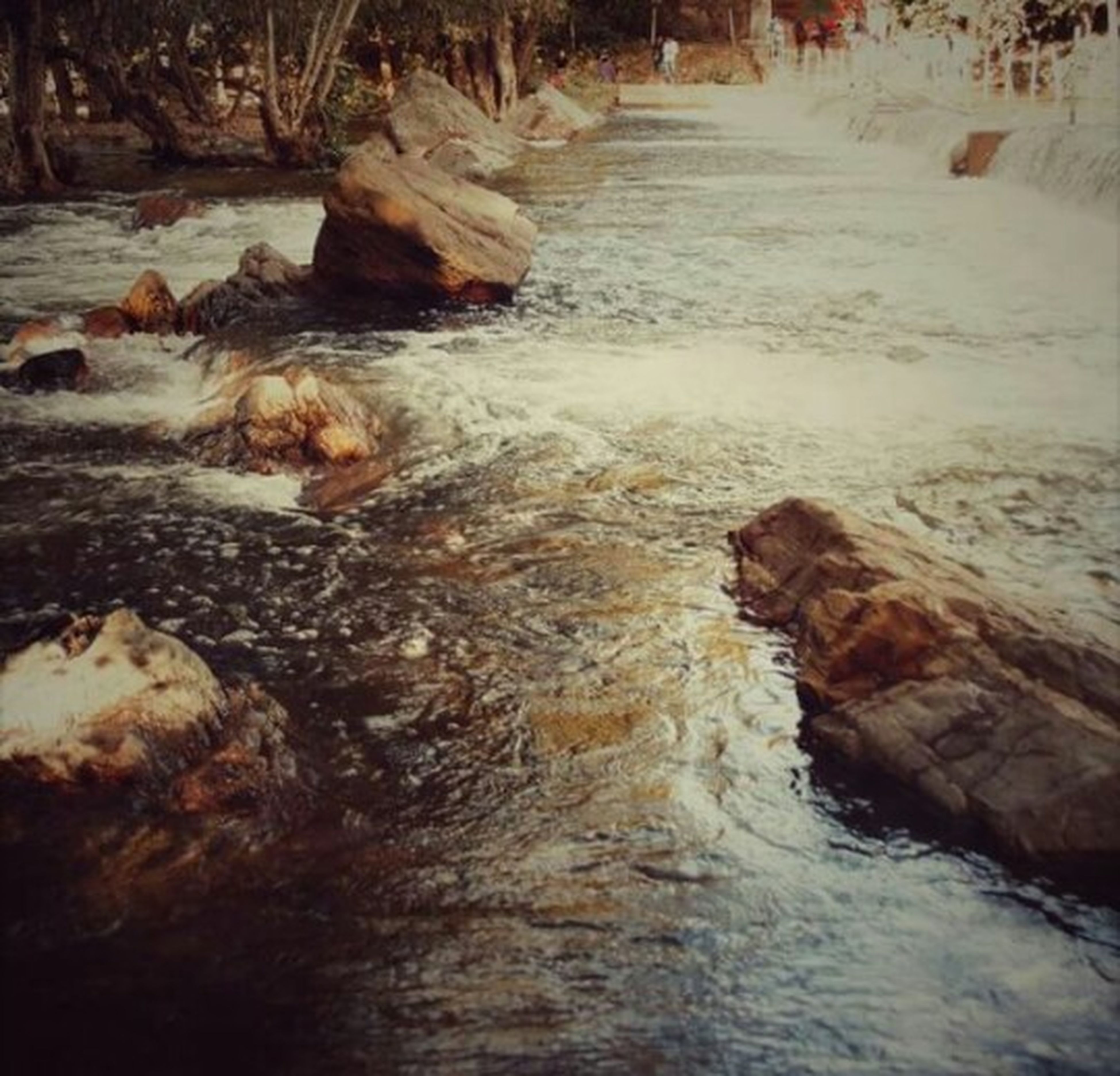 water, motion, rock - object, flowing water, surf, long exposure, splashing, flowing, nature, waterfront, beauty in nature, sea, wave, scenics, shore, waterfall, rock formation, river, outdoors, stream