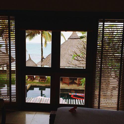 Mauritius my Peaceful View Enjoying Life Relaxing 😎☁️