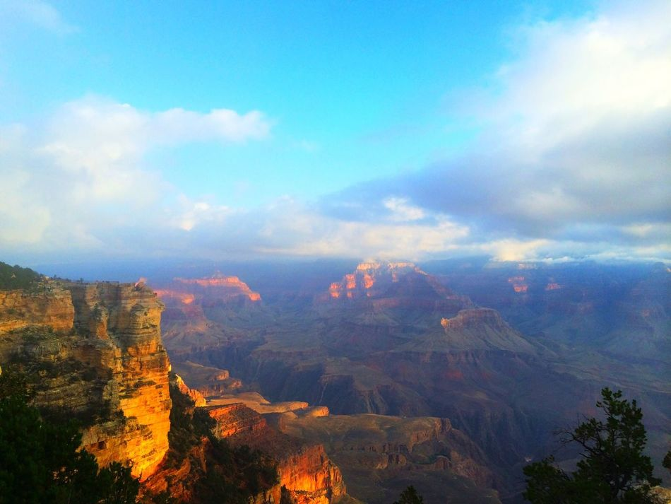 Beautiful stock photos of grand canyon, Beauty In Nature, Blue, Cliff, Cloud - Sky