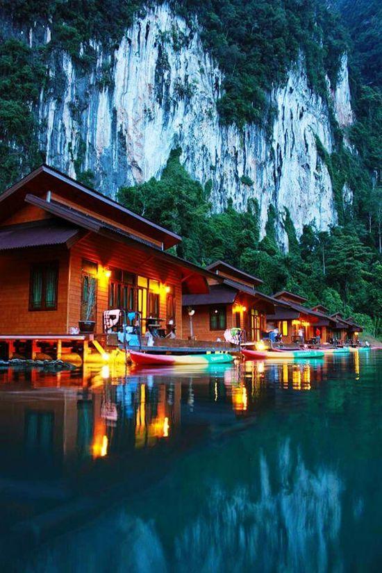 Travel Good Morning Beautiful Nature Thailandtravel ThailandOnly Ratchaprapa Dam Suratthani