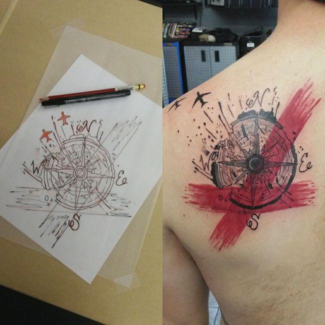 Trashpolka  Tattoo Tattoosbyniko First Eyeem Photo