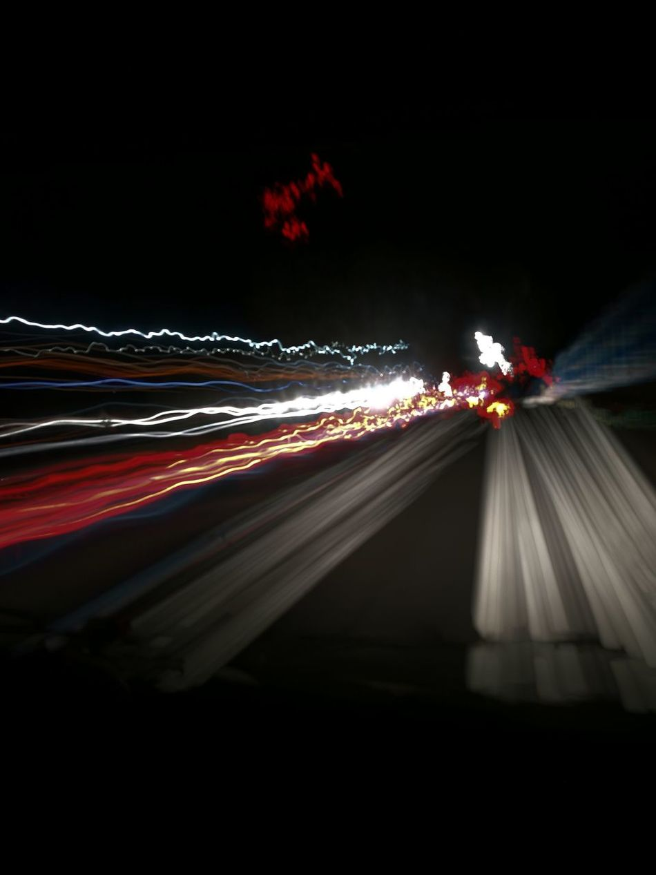 Nofilter Lights Curvey Road Relaxing Traveling Red Wave White Waves Night