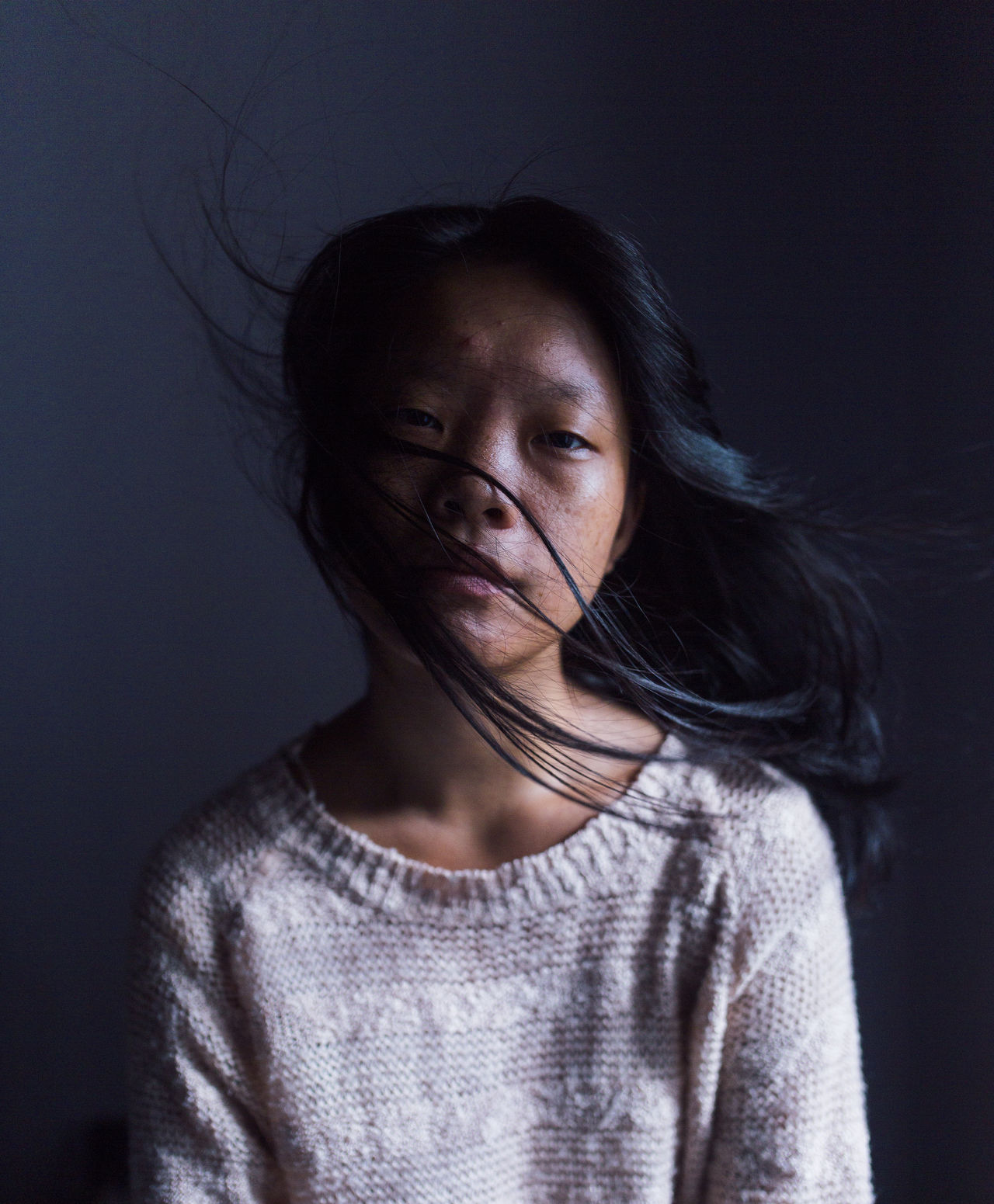 Dreamy EyeEm Best Shots Indoors  Long Hair Portrait Portrait Of A Woman Surrealism The Portraitist - 2017 EyeEm Awards Young Women BYOPaper!