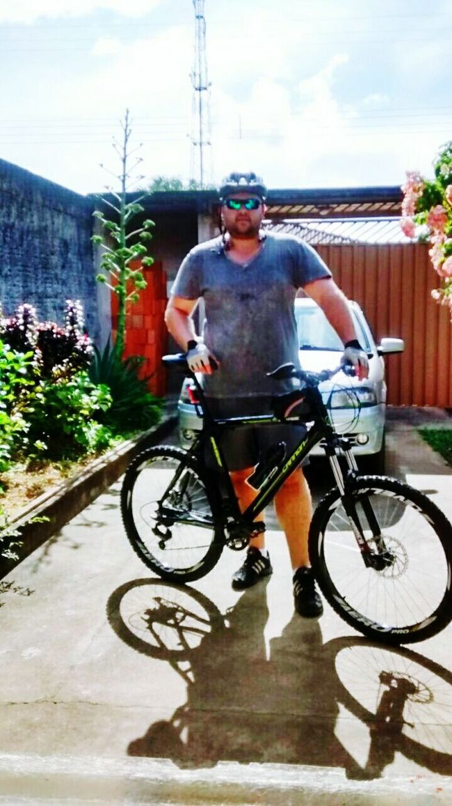 Novo esporte. Nova paixão. Bike MTB BarroMemo First Eyeem Photo
