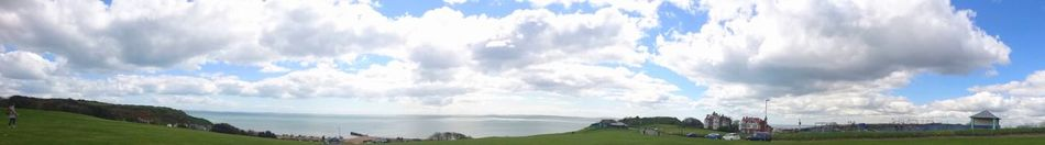 Clouds Cloud - Sky Sky Nature Day Grass Beauty In Nature Outdoors Panoramic Scenics Tranquility Sunshine Bluesky England Springtime
