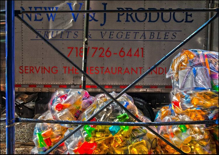 Fruits & Vegetables & Plastic - 3/21/17 Add A Little HDR And Stir All That Was Fit To Eat Canonpowershot EyeEm StreetPhotography, NYC Here Today, Gone Tomorrow Large Group Of Objects Malephotographerofthemonth Too Much Snow Create The After Mess