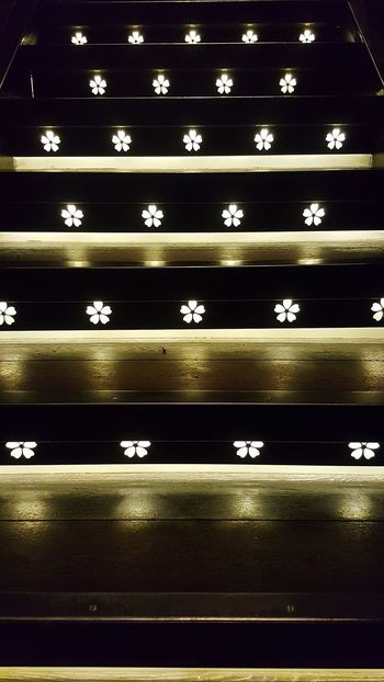 In A Row Repetition Indoors  Pattern Backgrounds Illuminated No People Day Close-up Film Industry Stairs Stairs & Shadows