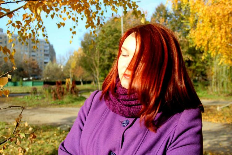 Beautiful Beauty Hi Hello World Darklips Hi! Red Hair Hier Hair Eyes Autumn Autumn Colors Love <3 Sweet Magic Lovelovelove