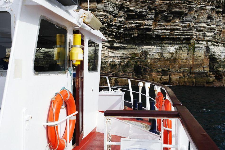 JohnO'groats Water Happy Travel History Beauty Nc500 Love Home Rocky Coastline Rock Formations Nature Sea Tour Boat Scotland Highlands Scotland.