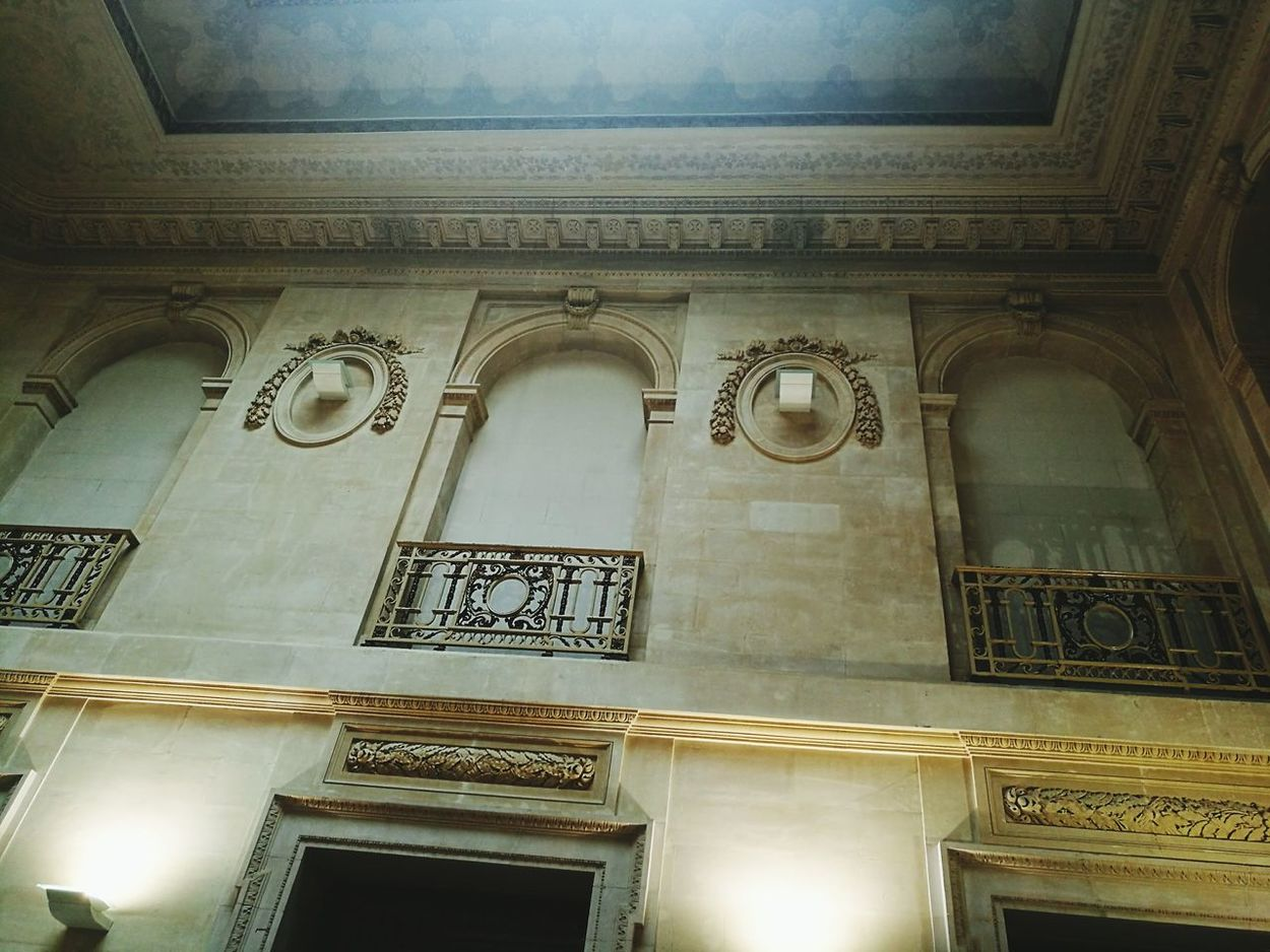 Low Angle View Architecture Built Structure Architectural Feature Historic Barcelona, Spain Palau Robert Catalunya