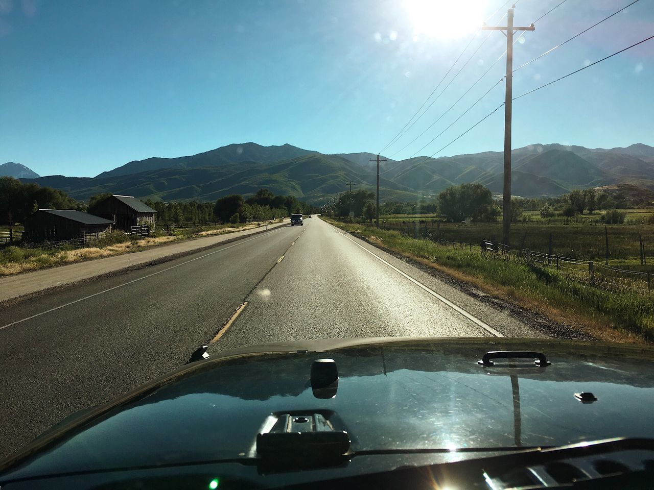heading one town over for dinner. Midway, Utah