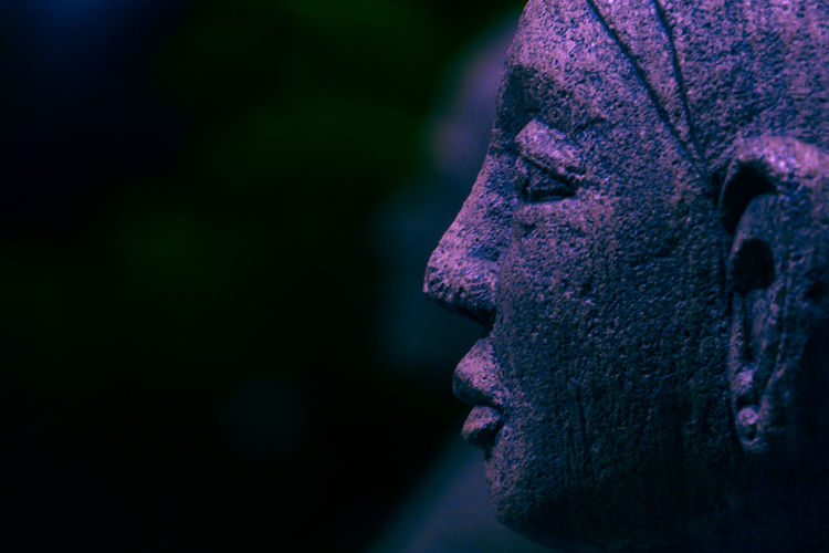 Happy Mother's Day Female Statue Statue Close-up Face Female Focus On Foreground One Person Outdoors Purple Statue EyeEm Ready   EyeEmNewHere