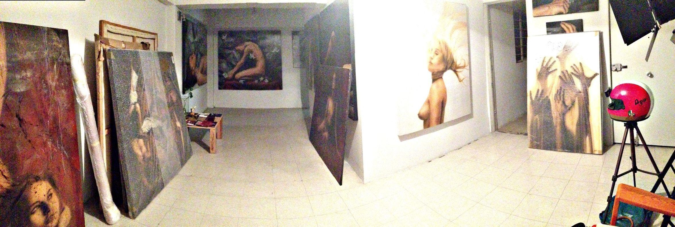 Entrega de obra... Art Luigifantini Mexico Studio