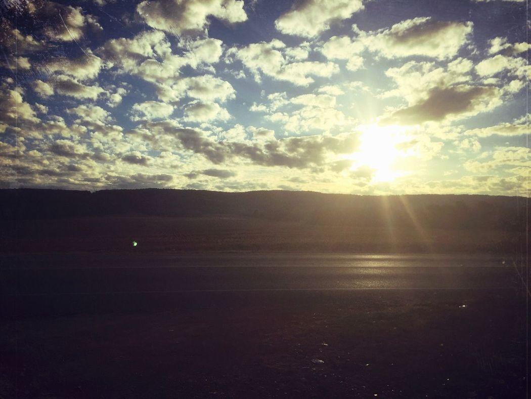Peaceful Sunrise Tranquility Sky Tranquil Scene Landscape Sunlight No People Scenics Sunbeam
