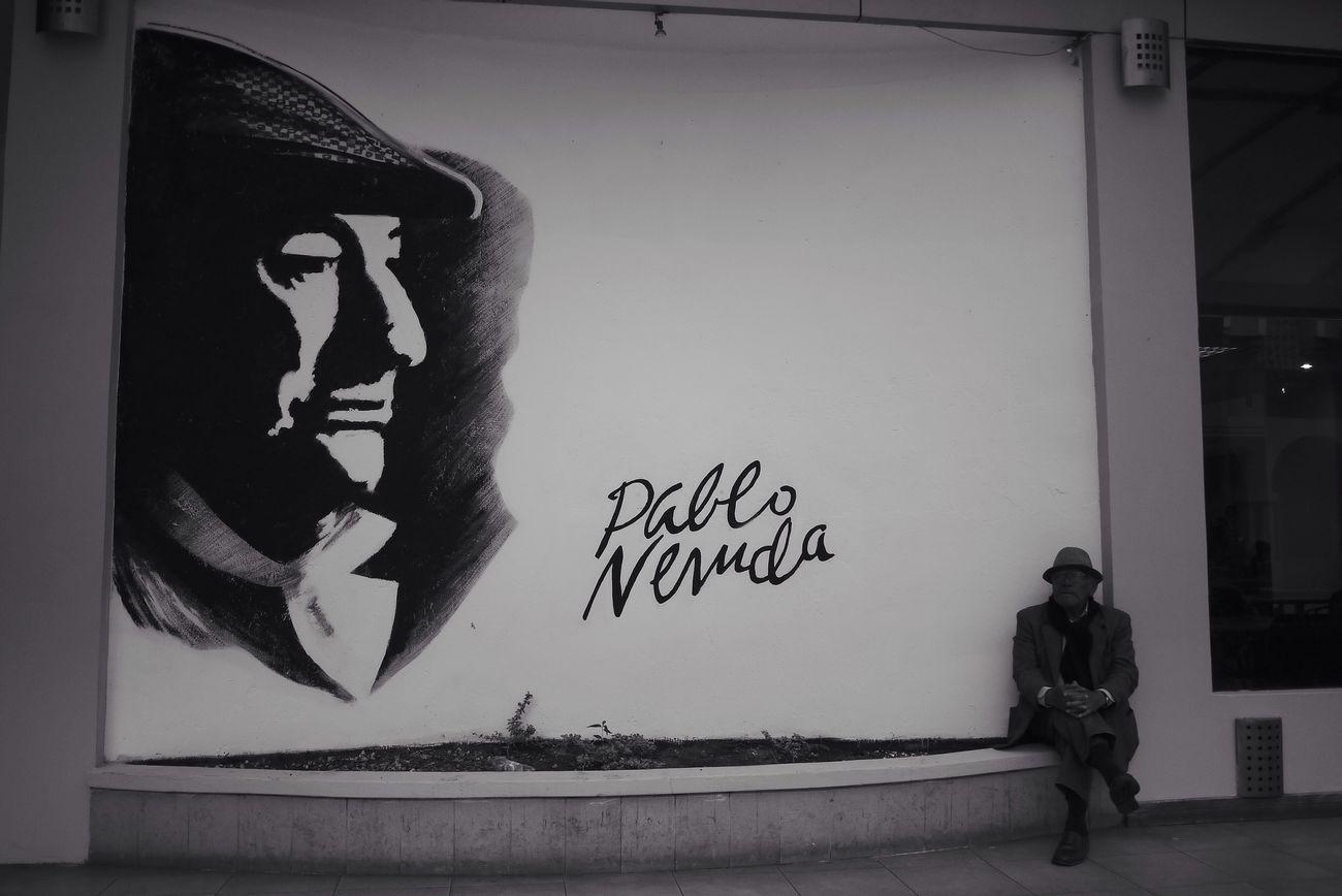 Pablo Neruda Street Art Streetphotography