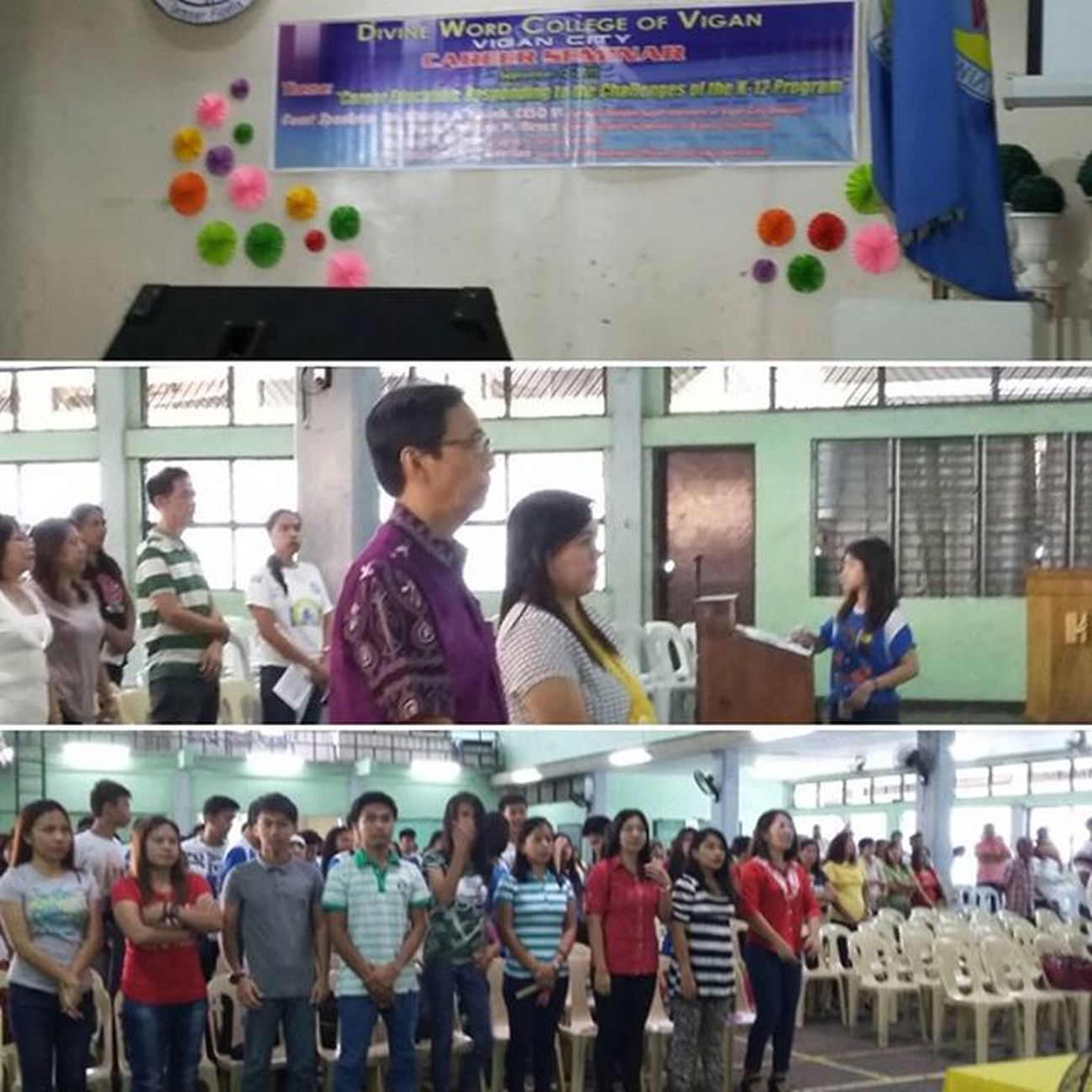 Career Seminar at Divine Word College of Vigan City DepEd ViganCity Kto12