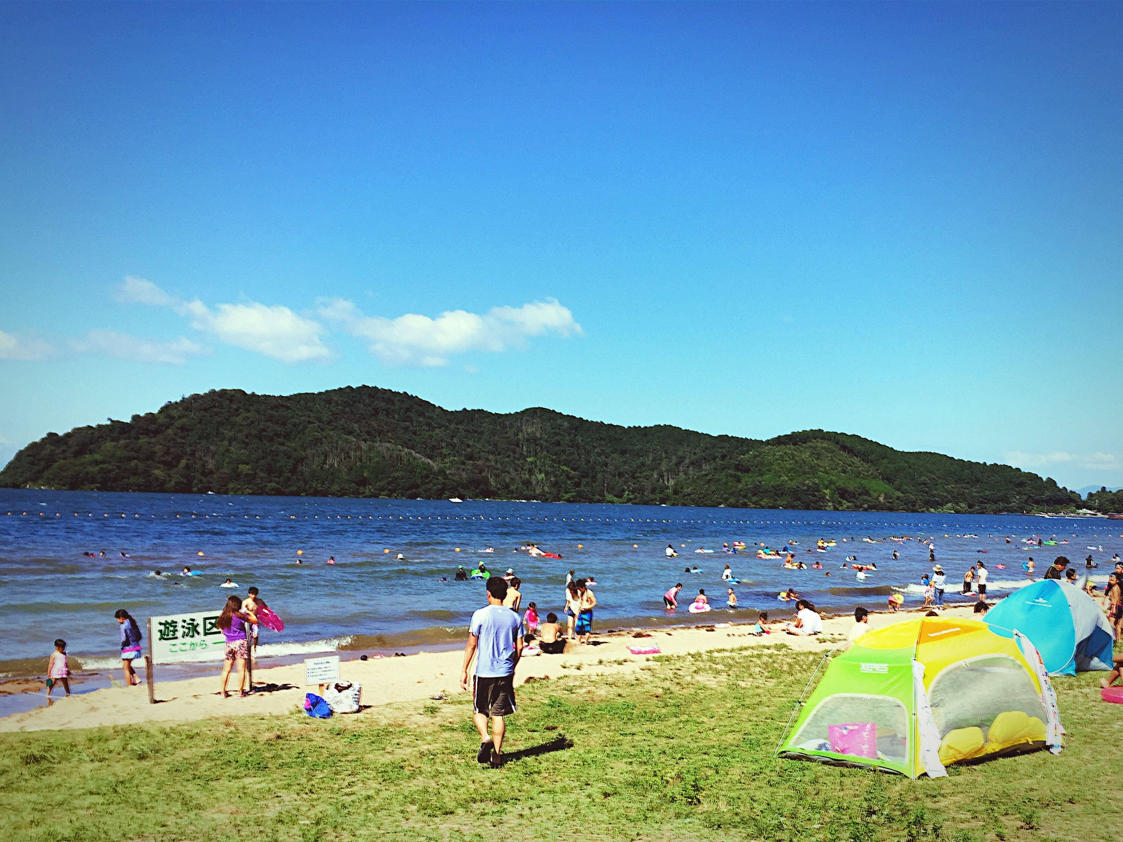 Beach Lakeside Bathing 琵琶湖 Lake Biwa