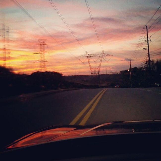 Dodgecharger Sunset