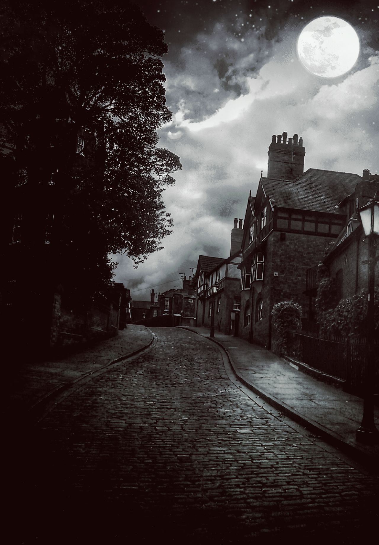 🌜 https://youtu.be/grF37A2AhAg🌛 Supermoon ...an Imagining Artistic Expression Extreme Edit Steep Hill Lincoln England 🌹 My Unique Style Night Moonlight Street Photography ArtWork Art Photography Painterly Effect Cobblestone Streets Exceptional Photographs Tadaa Community Eye4photography  Artistic Photo Monochrome Blackandwhite Blackandwhite Photography Blackandwhite Eyeem Market EyeEm Masterclass