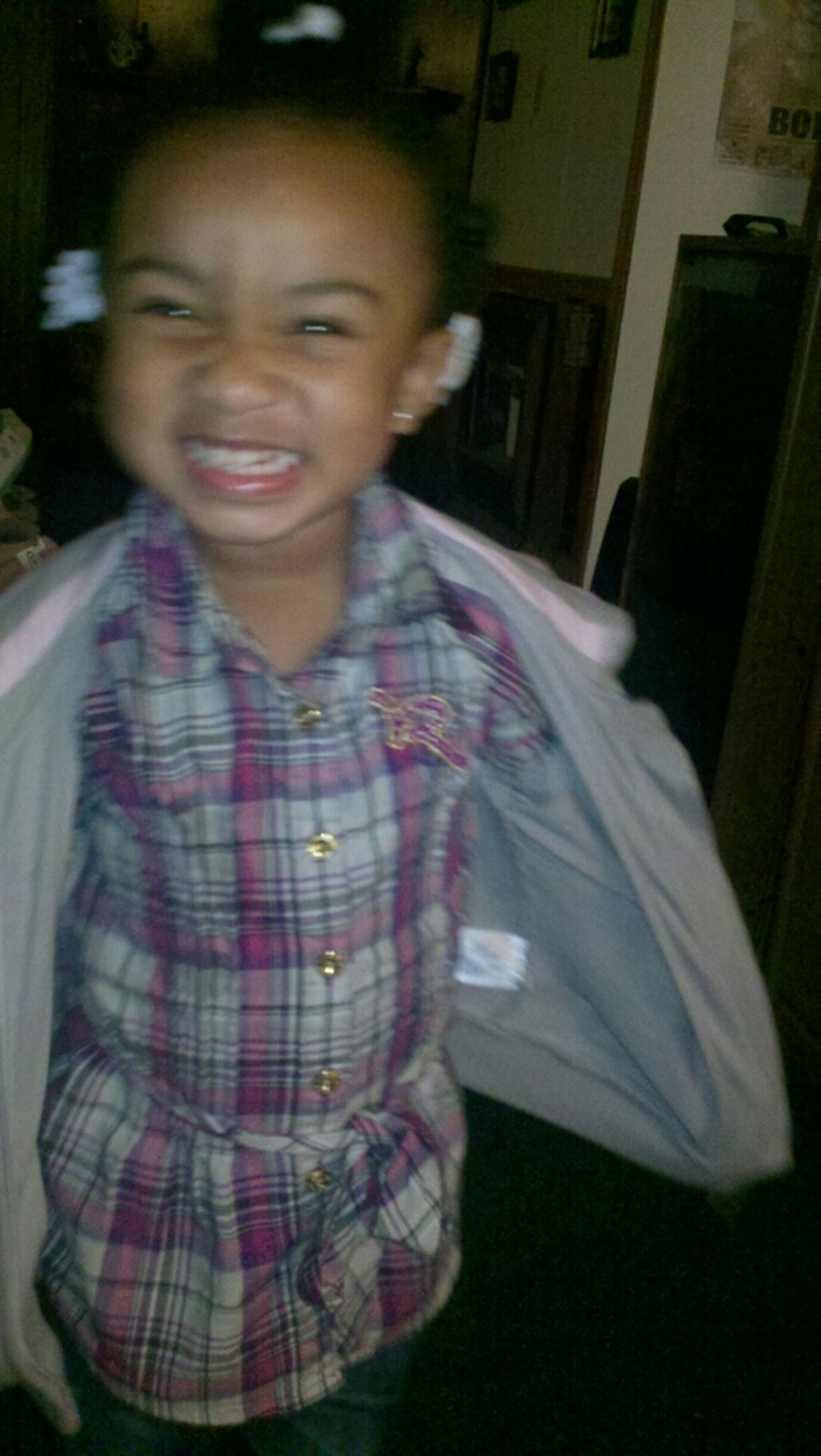 My God Daughter Being Silly.