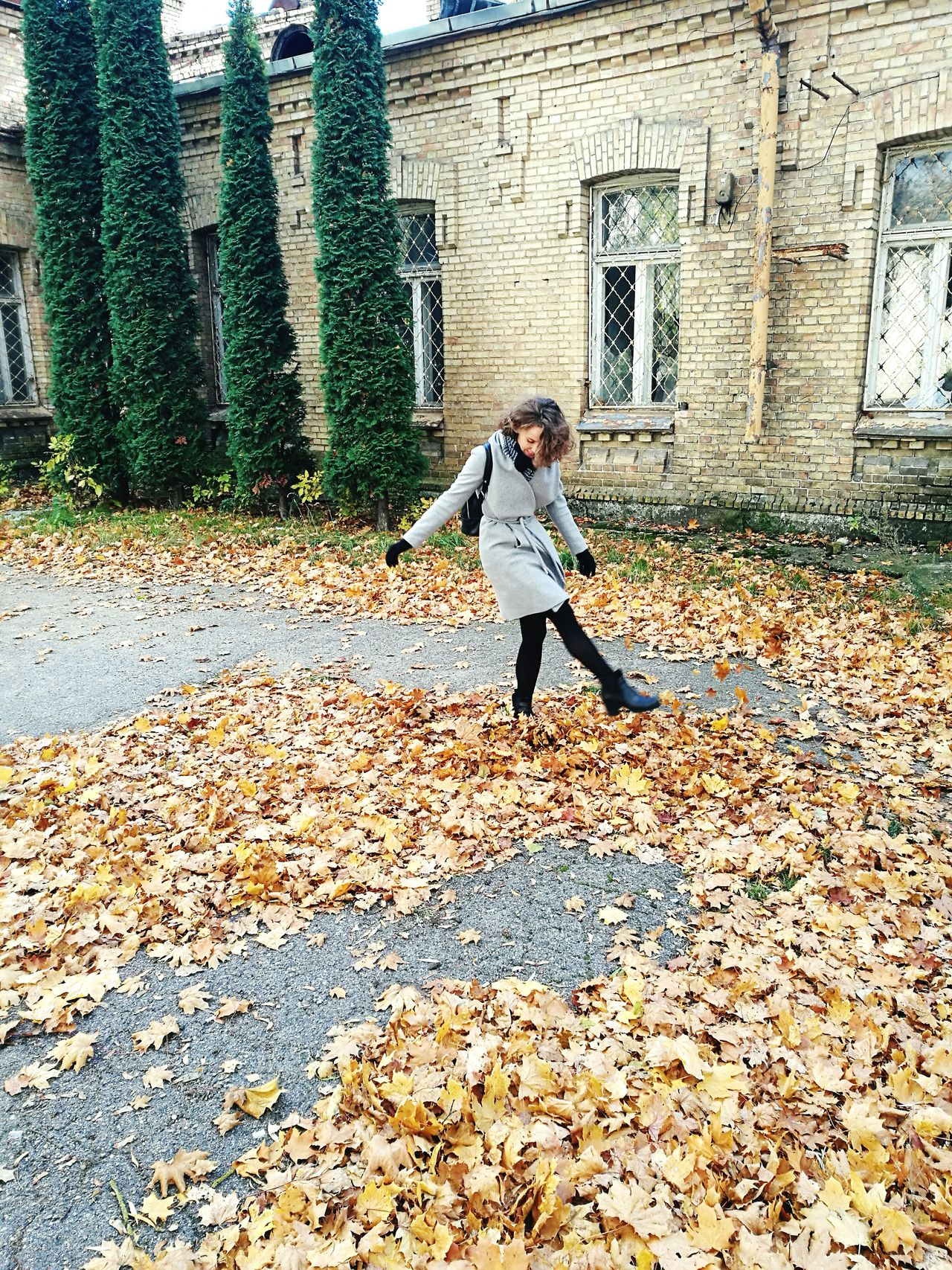 Having fun! Leaves Leaves🌿 Leavesporn Leaves On The Ground Leaves 🍁 Autumn Autumn Colors Autumnbeauty Autumn🍁🍁🍁 Autumnleaves Palying Lithuaniangirl Lithuanian Girl Lithuania Nature Lithuaniagirl SundayFunday Sunday Afternoon Sunday Walk Vilnius Vilnius City