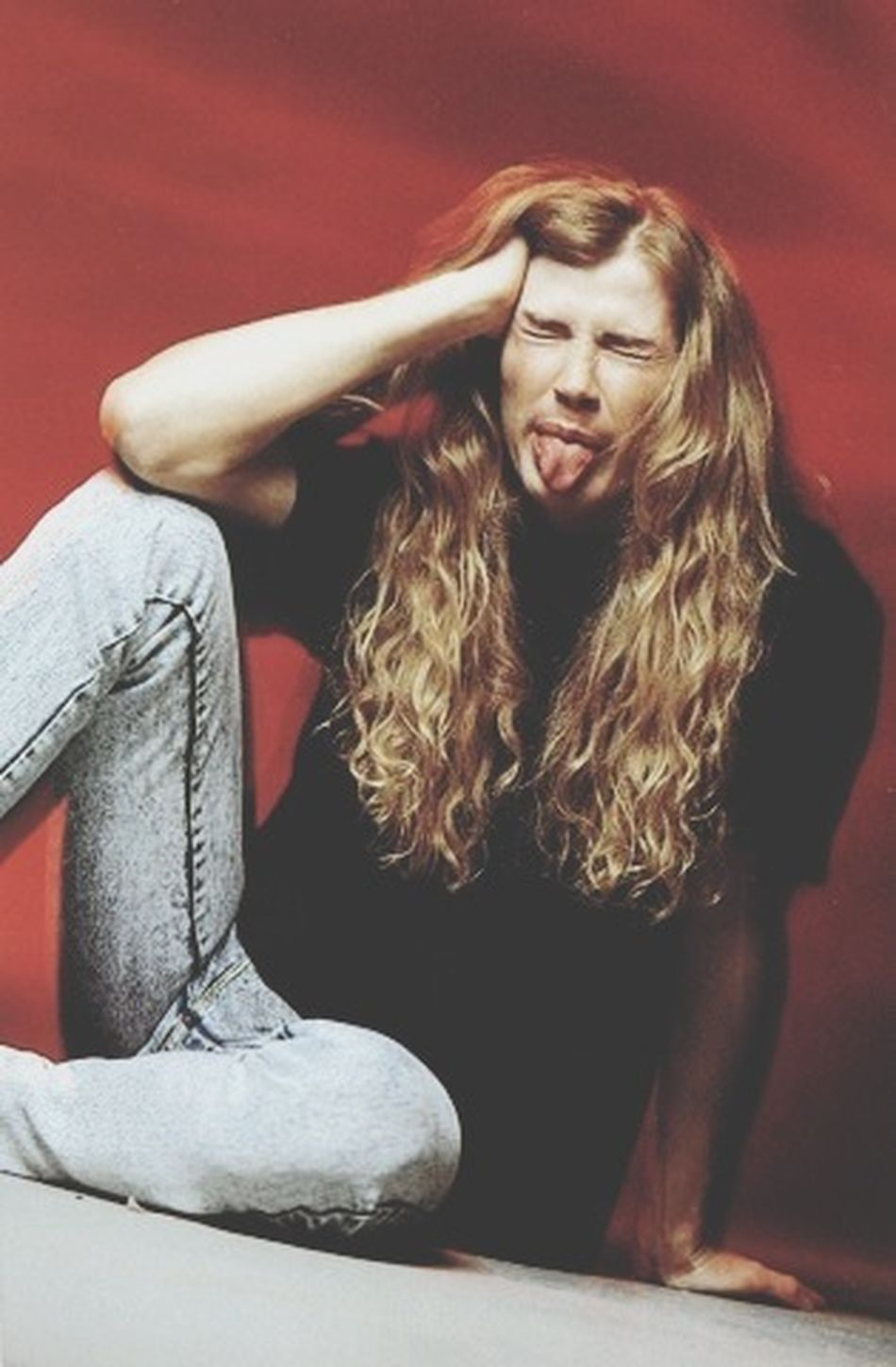 Aww, he's such an angel Dave Mustaine Megadeth