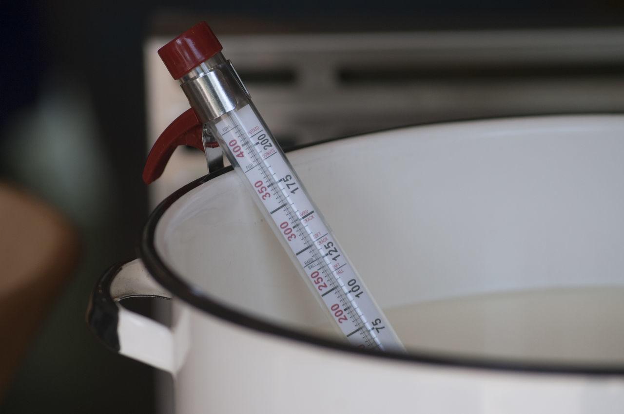 Cheese Heat Homemade Milk Thermometer