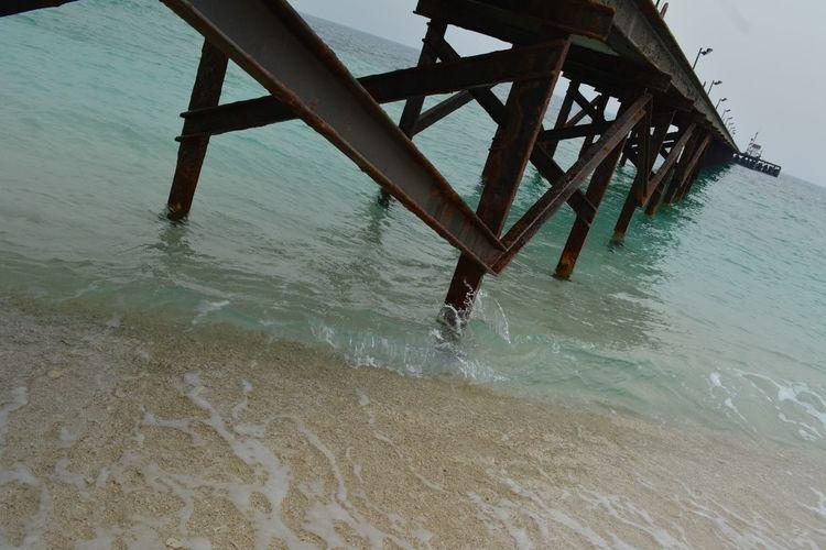 An island bridge. 😍 Beach Ocean First Eyeem Photo
