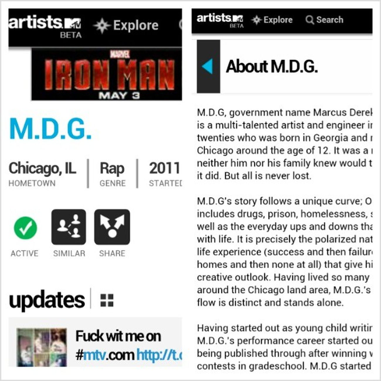 Stay in tune with Thecampaign on mtv.com ForNoReasonTheMixtape drops May 15th StackorStarve MysteryStreetRecordingCompany LiveIt mdgofficial